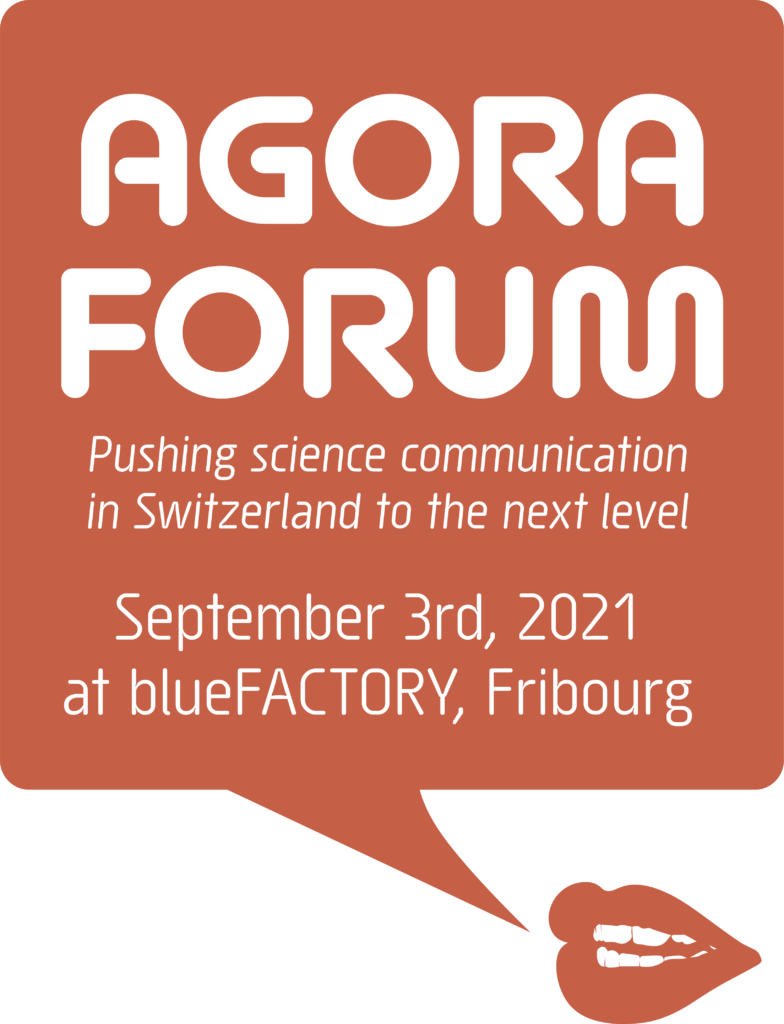 Agora Forum, september 3, at blueFACTORY, Fribourg